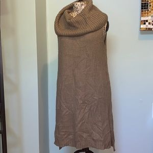 BB Dakota sleeveless Cowl Neck Sweater Dress